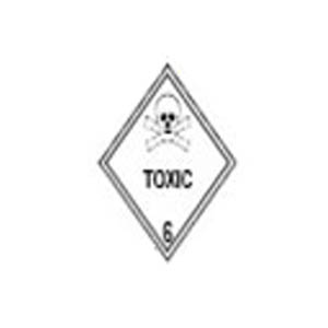 6.1 TOXIC SUBTANCES