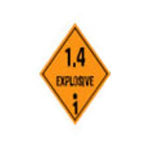 1.4 Subtances and articles which present no particular hazard