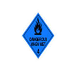 4.3 SUBSTANCES WHICH, IN CONTACT WITH WATER, EMIT FLAMMABLE GASES